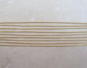 100mmgoldplatedheadpins10prpkt