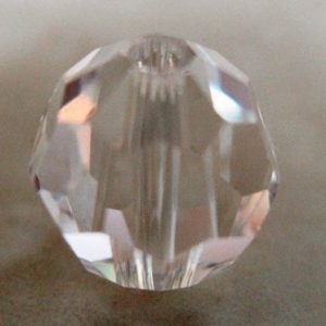 SW. CR.  FACETED ROUND CRYSTAL 5000