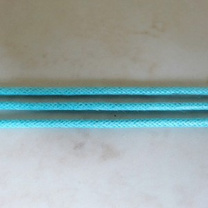 aquamarinewaxedcottoncord15mm
