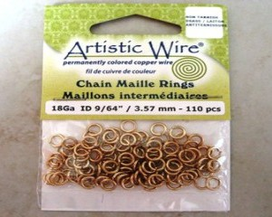 artisticwirechainmailleringsbrass357mm110pcs
