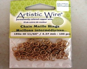 artisticwirechainmailleringsbrass437mm100pcs