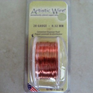 barecopperartisticwire28gauge32mm15yd137mtrusa