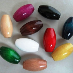 barrelwoodenbeadsmixedcolours25x14mm2