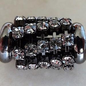 blacktubewithcrystaldiamantes16x10largehole
