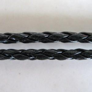 braidedfauxleatherkit3mmblack45cm