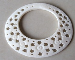 carvedfilagreeringinnaturalbone43mm