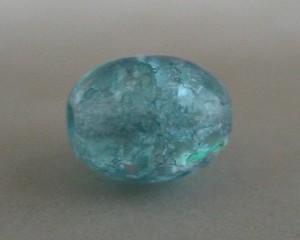 czechcrackleglassroundaquamarine6mm