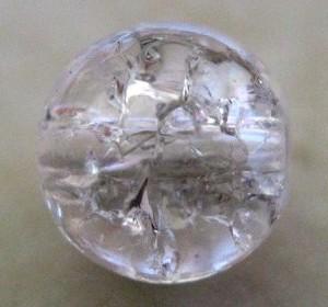 czechcrackleglassroundcrystalclear10mm