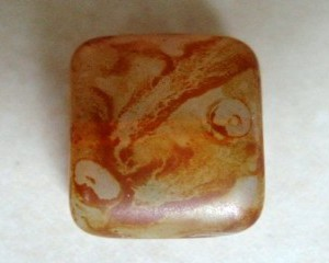 czechglassrectangletopazpicasso11x8mm