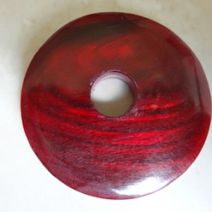 donutwithcentreholeredhorn5x48mm