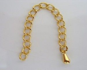 extentionchaingoldplated60mm