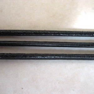 greekleatherblack15mmpermetre
