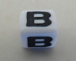 letterbalphabetbeadwhiteplastic7mmlargehole