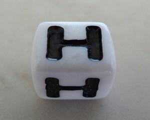 letterhalphabetcubewhiteplastic7mm