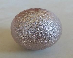 lilacfoilglasspearl14mm