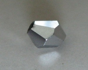 metallicsilverglassbicone4mm