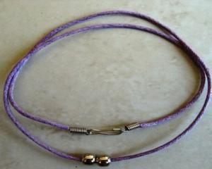 purplecordnecklacewithclasp44cm