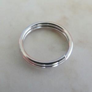 silverplatedsplitrings