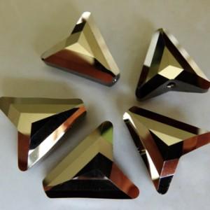 swarovskiarrowbeadmetallicltgold2x16mm5748