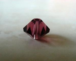 swarovskicrystalamethystbicone5301