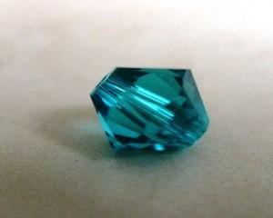 swarovskicrystalbluezirconbicone5301