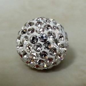 swarovskipavebeadwhitecrystal10mm