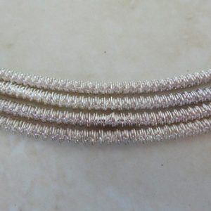 2MM WIGGLE WIRE SILVER PLATED 19CM LENGTH