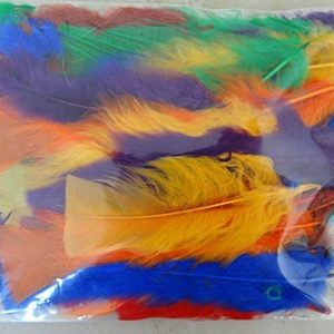 DUCK FEATHERS DYED APPROX 12.5 GMS 2