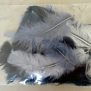 TURKEY FEATHERS NATURAL APPROX 7 GRAMS NET