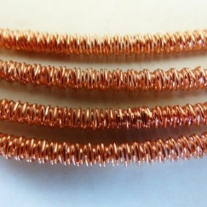 2MM WIGGLE WIRE COPPER PL HOLLOW 19CM