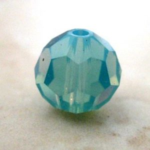 SWAROVSKI CRYSTAL FACETED ROUND PACIFIC OPAL 5000