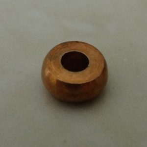 PLAIN RONDELLE BEAD 5X3MM ANTIQUE COPPER