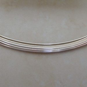 SILVER FILLED ROUND WIRE
