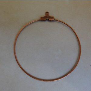 40mm-b-copper-earring-hoops-per-pair