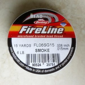 FIRELINE SMOKEM0.15MM 15 YARDS 6LB